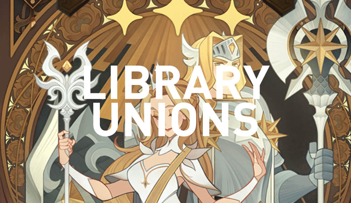 afk arena library unions