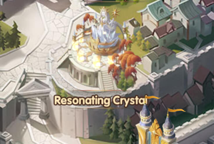 Resonating Crystal Building