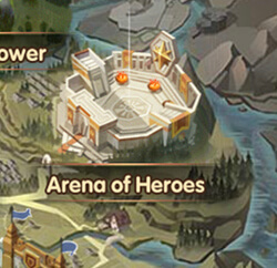 arena of heroes afk arena