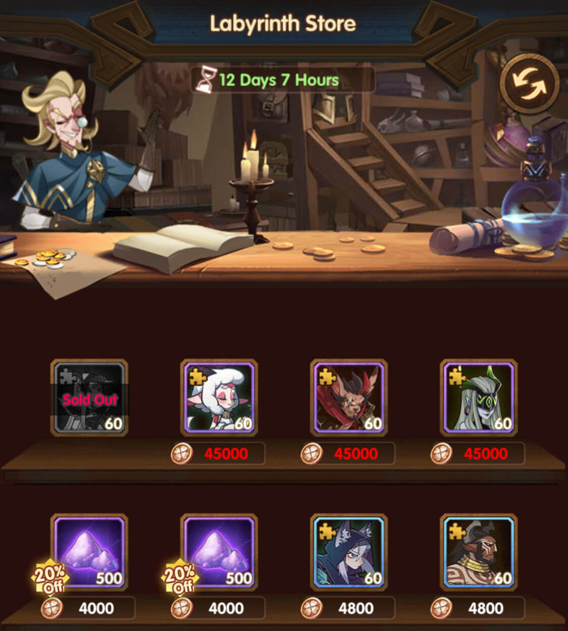 Labyrinth Store AFK Arena
