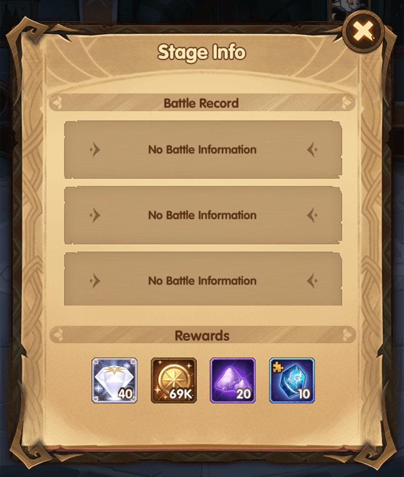stage info king's tower