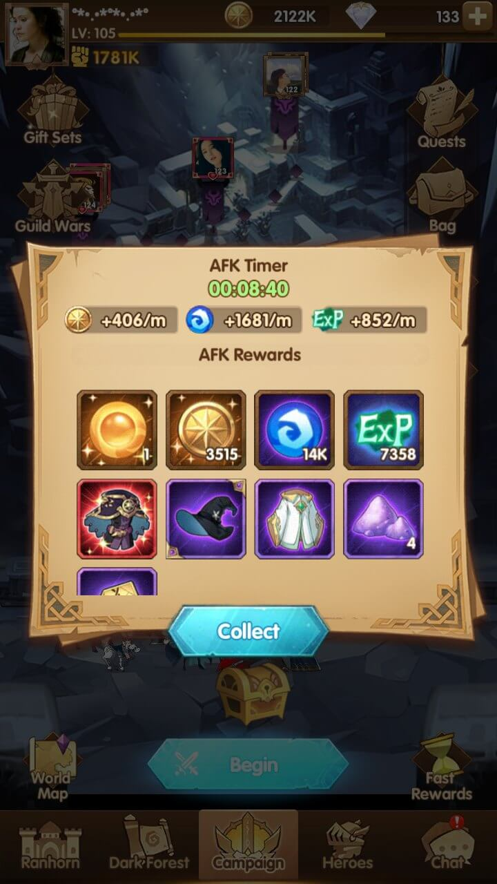 Trick to Get Mythic Gears in AFK Arena