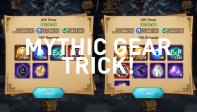 Proven Trick to Get Mythic Gears With Ease!