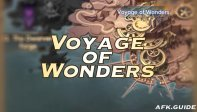 Voyage of Wonders Guide Map: Depths of Time III & Roamers' Rhapsody