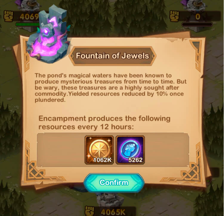 fountain of jewels