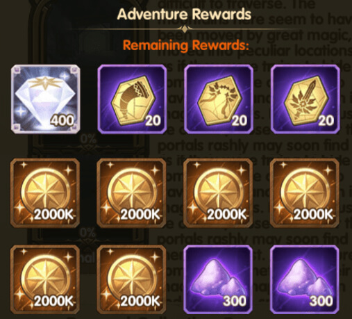 The best rewards you can get in Peaks of Time The Dismal Descent