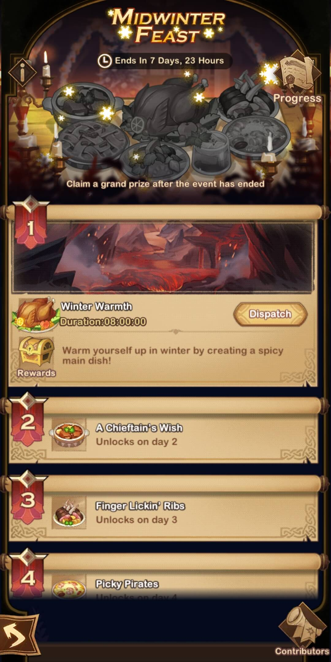 afk arena Midwinter Feast