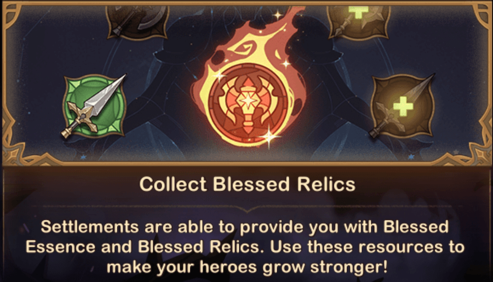 Collect Blessed Relics Abyssal Expedition