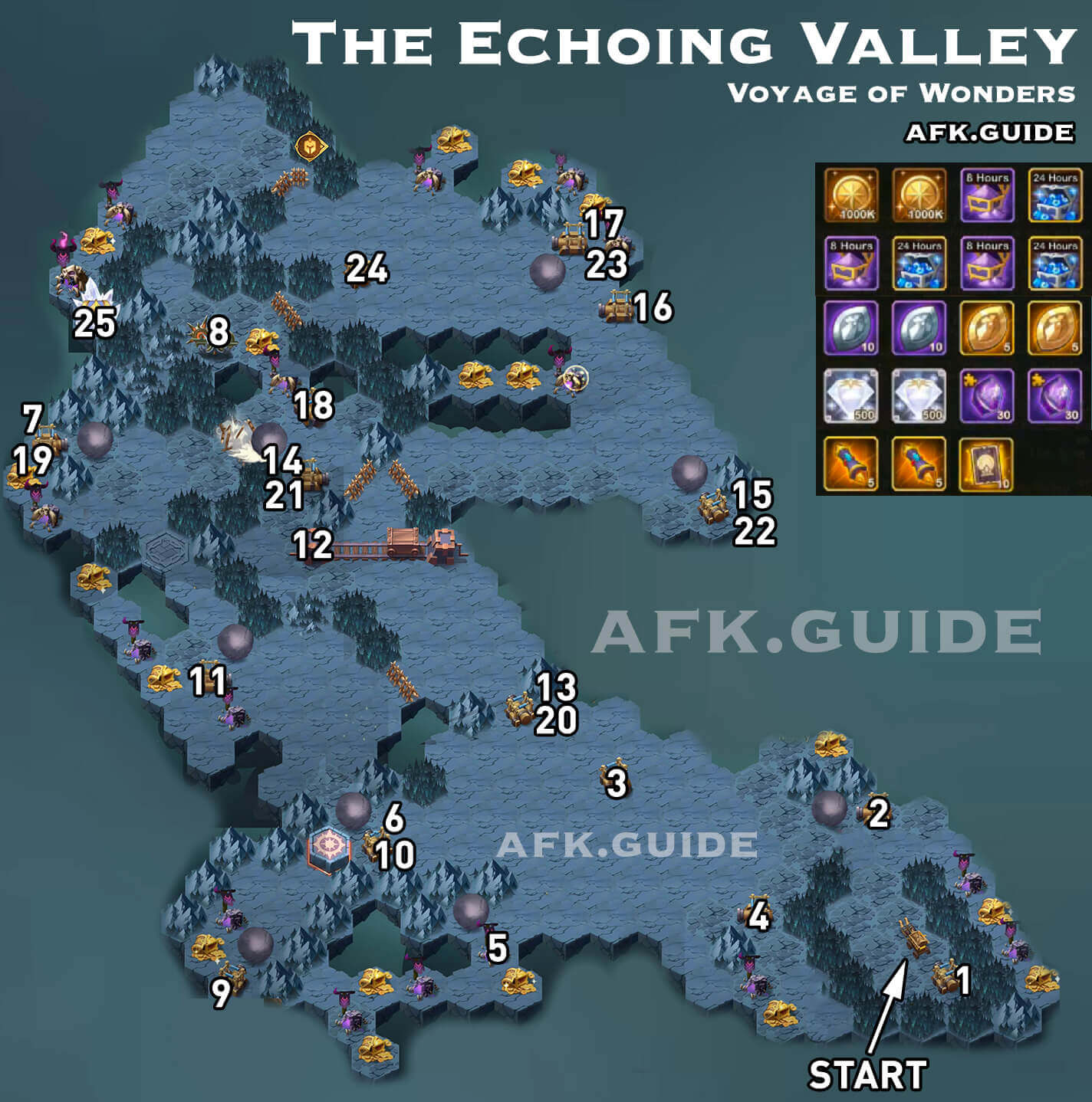 the echoing valley voyage of wonders