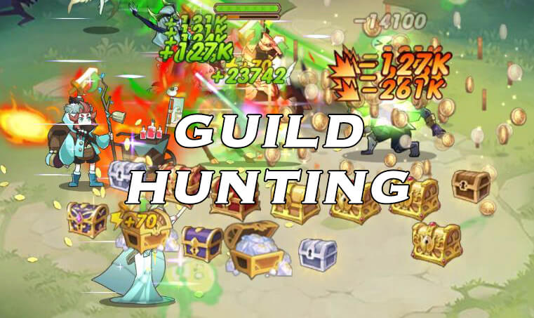 afk arena guild hunting wrizz and soren