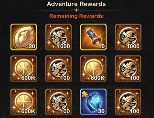 fallen souls rewards afk arena