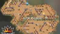 howling wastes map afk arena