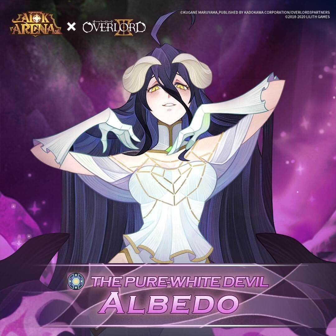 albedo the pure-white evil afk arena