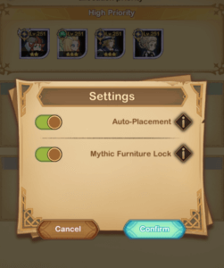 mythic funiture lock