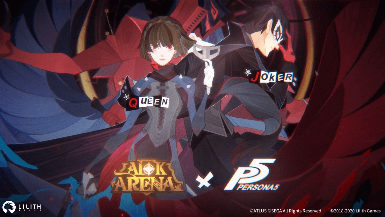 afk arena x persona 5