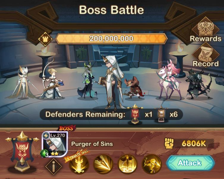 boss battle abyssal expedition