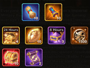 art of conquest rewards