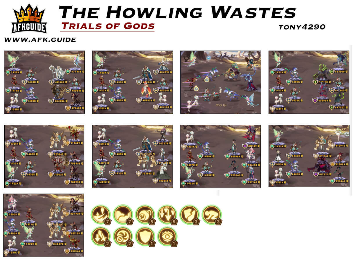 the howling wastes trials of god