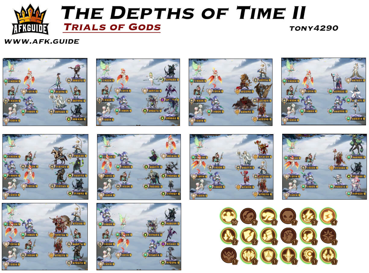 trials of gods the depths of times II