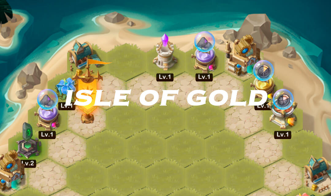 Isle of Gold Event