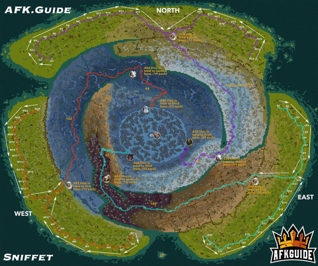 Abyssal Expedition Map